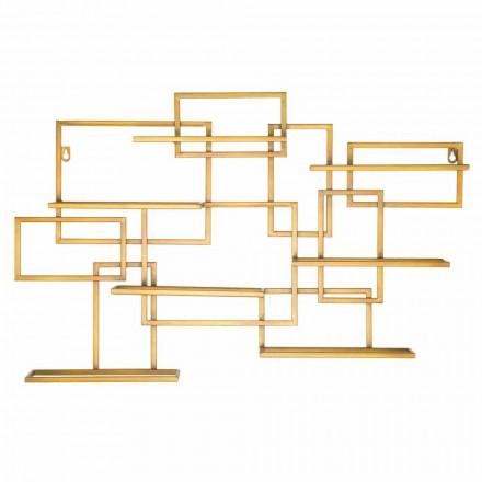 Design Horizontaler Tischflaschenhalter aus Eisen - Berti