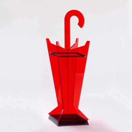 Modernes Design Schirmständer aus farbigem Methacrylat Made in Italy - Daddy
