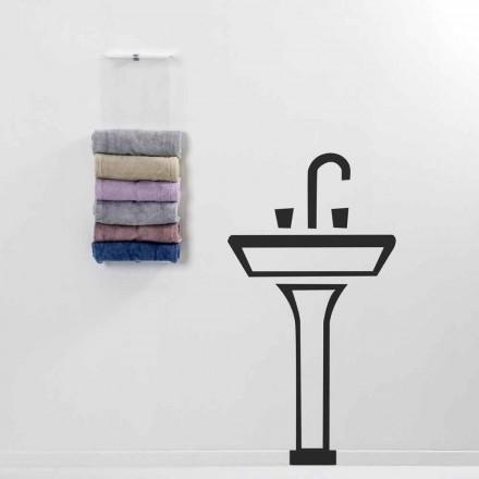 Handtuchtrockner Max von modernem Design Made in Italy