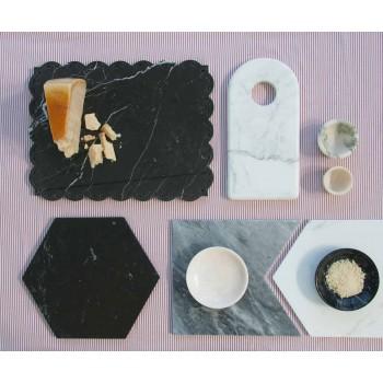 Design Eierbecher aus weißem Carrara-Marmor Made in Italy, 2 Stück - Picca