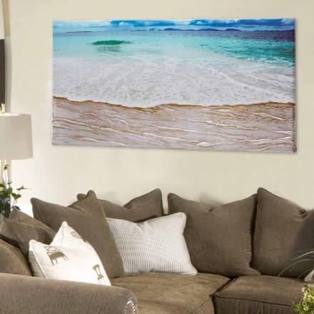 Design Bild Beach von Viadurini Decor handfertigt
