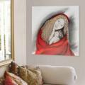 Modernes Gemälde handgefertigt Madonna Viadurini Decor