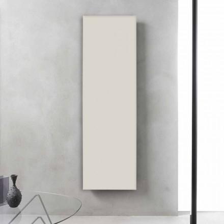 Vertikaler elektrischer Kühler Minimal Design Stahlschiefer Grau 700 W - Eis