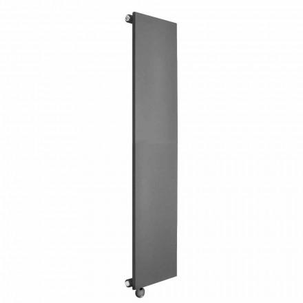 Minimales Design des vertikalen elektrischen Heizkörpers aus farbigem Stahl 700 W - Eis