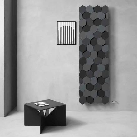 Modernes Design Kühler in Stahl Vertikales Design 834 Watt - Honig