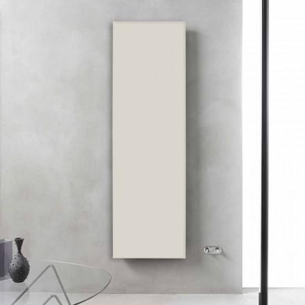 Vertikaler Kühler aus grauweißem Stahl bis 839 W - Eis