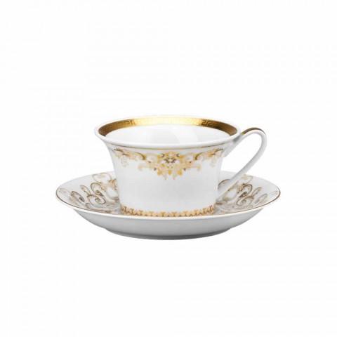 Rosenthal Versace Medusa Gala Gold Set Teetassen 6er Set