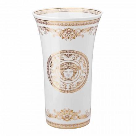 Rosenthal Versace Medusa Gala Porzellan Design Vase h 34cm
