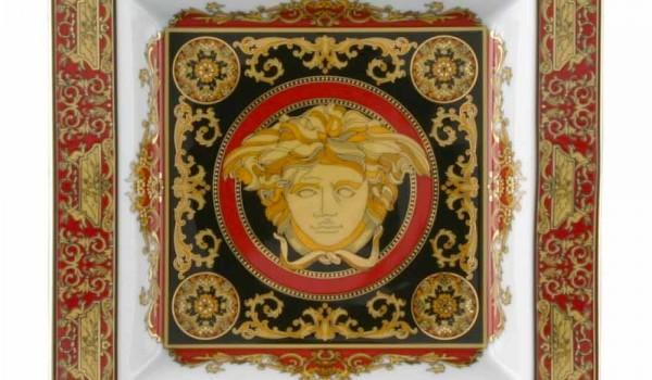 Elektrokamin Versace : Rosenthal versace medusa rosso porzellan design tasse cm