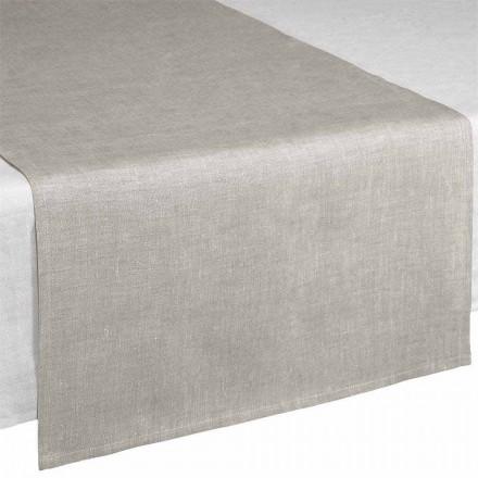 Tischläufer aus Naturleinen 50x150 cm Made in Italy - Blessy