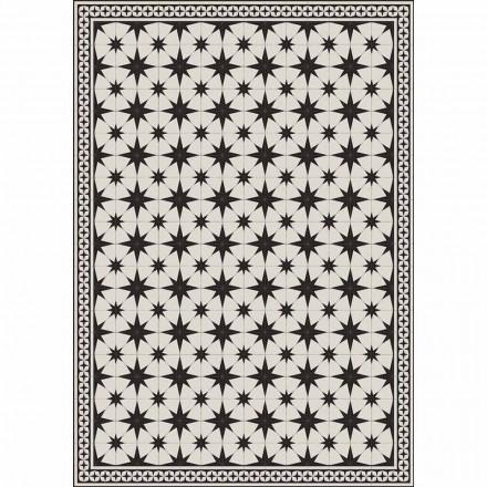 Design Tischläufer in PVC und Polyester rechteckig gemustert - Osturio