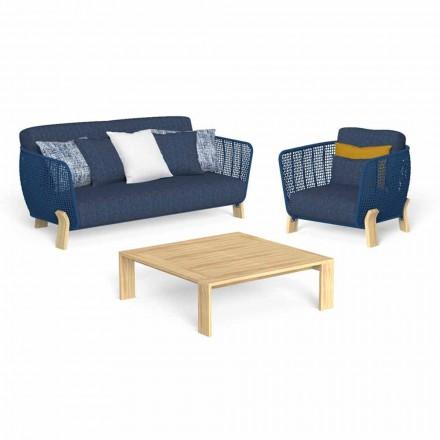 Garden Lounge mit Sofa, Sessel und luxuriösem Couchtisch - Argo by Talenti