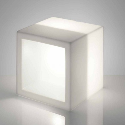 Helles Regal mit modernem Design Slide Open Cube, hergestellt in Italien