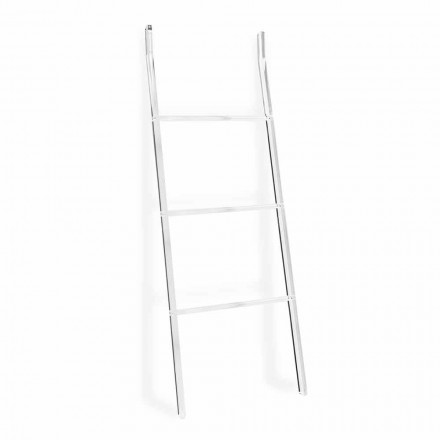 Handtuchhalter Leiter in transparentem Plexiglas Design 2 Höhen - Trockner