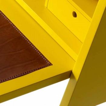 Design mehrschichtiger Holzschreibtisch Grilli Hemingway aus Italien