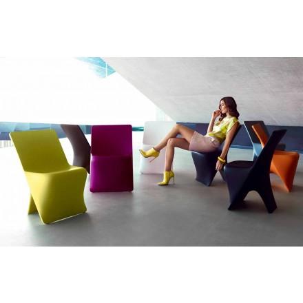 Gartenstuhl Sloo von Vondom, modernes Design aus Polyethylen