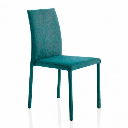 Designerstuhl aus Stoff für Esszimmer made in Italy, Conny