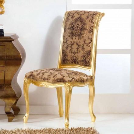 Neobarock Stuhl aus  Blattgold Bellini