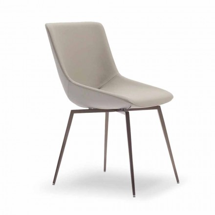 Lederstuhl  für Living room Made in Italy – Bonaldo Artika