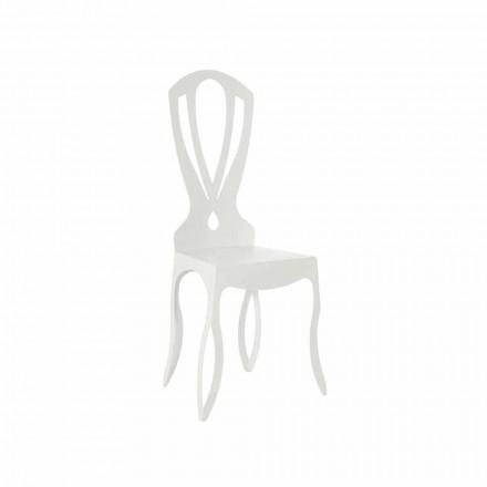 Moderner Stuhl aus Eisen Made in Italy - Giunone