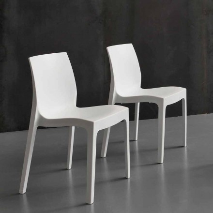 Moderner Stuhl aus Polypropylen Imperia