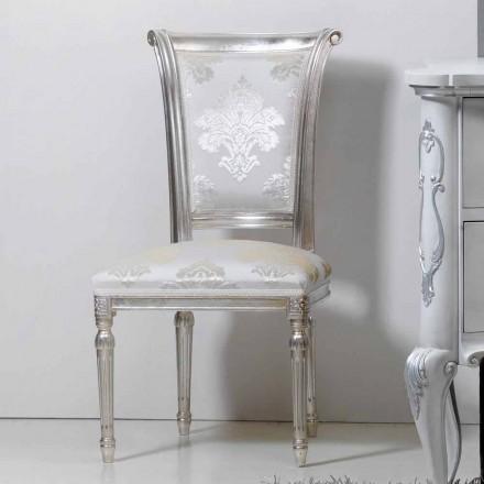 Neobarock Stuhl aus Blattsilber Miel