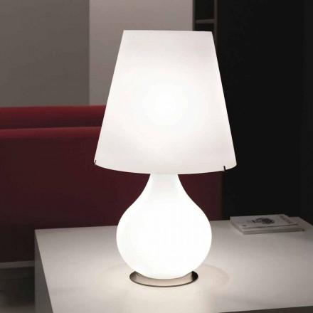 Selene Forever Tischlampe aus geblasenem Glas Ø41 H 72cm