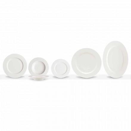 Elegante und moderne Porzellan-Teller Set 20 Stück - Arendelle