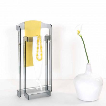 Moderner Design-Diener in Mose Plexiglas, hergestellt in Italien
