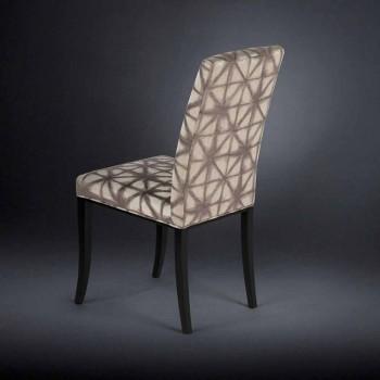 2. September Polster moderne Stühle mit Holzbeinen in schwarz Audrey