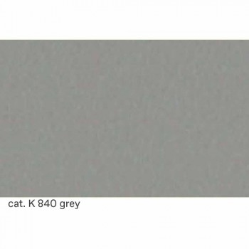 Barhocker aus verchromtem Stahl mit Ledersitz Made in Italy - Tarquinio