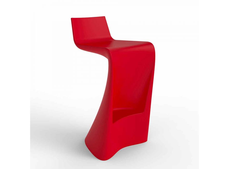 Wing Vondom Barhocker in modernem Design aus Polyethylen