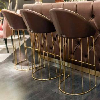 Moderner Barhocker 100% Made in Italy Dedo