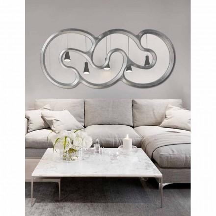 Design Wandspiegel in Italien handgefertigt Teo