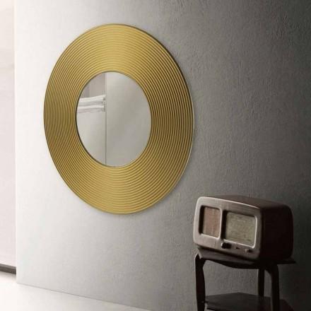 Runder Wandspiegel modernes Design Malva
