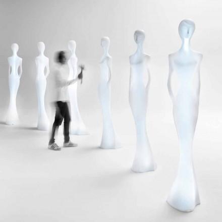 Leuchtendes Statuen-Bodendesign mit LED-Licht für den Innenbereich - Penelope von Myyour