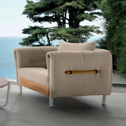 Talenti Domino Garten Design Sessel made in Italy