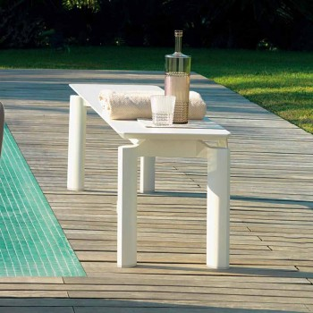 Talenti Milo moderne Design Gartenbank in Italien hergestellt