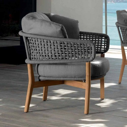 Outdoor-Sessel des modernen Designs Talenti Moon hergestellt in Italien