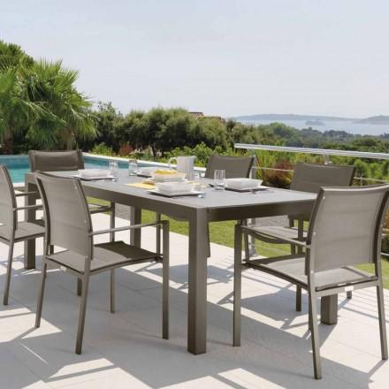 Talenti Touch Outdoor Tisch Ausziehbarer 152/225cm made in Italy