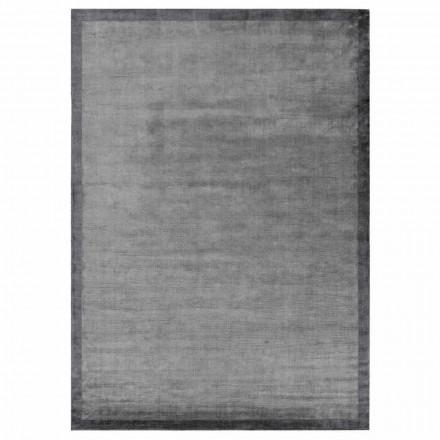 Design Kanten Teppich aus Baumwolle und Viskose für Wohnzimmer - Planetario