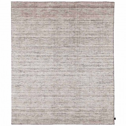 Großer schattierter Teppich des modernen Designs mit Rand - Brunilde