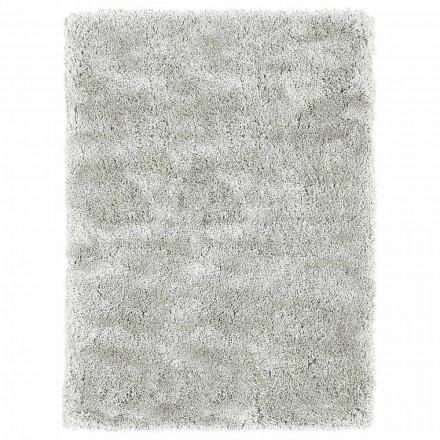Großer langhaariger Teppich des modernen Designs in der farbigen Seide und in der Baumwolle - Etesia