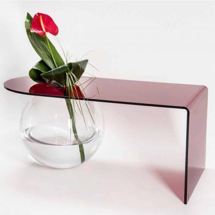Moderne Plexiglas-Brückentabelle hergestellt in Italien, Bolly