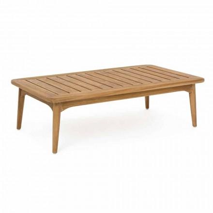 Homemotion Modern Teakholz Tisch im Freien - Luanaedmea