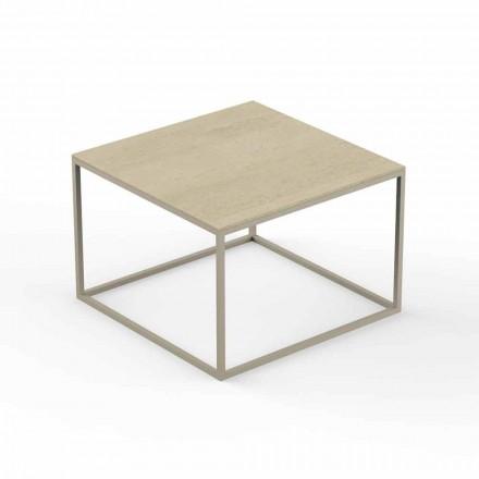 Design Garden Couchtisch, Square Marble Effect Top - Suave von Vondom