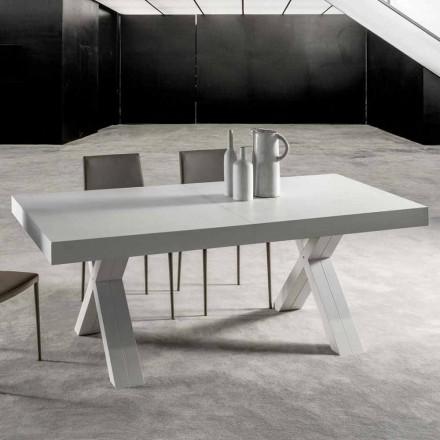 Ausziehbarer Tisch mit Melaminholzplatte - Atessa
