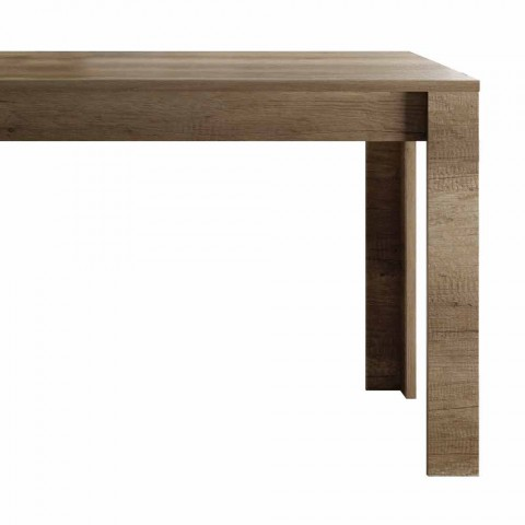 Ausziehbarer Tisch bis zu 185 cm Made in Italy Melamine Design - Ketra