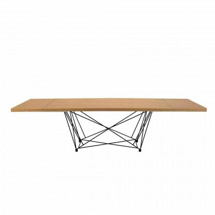 Moderner Esstisch ausziehbar mit 14 Sitzplätze – Ezzellino