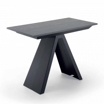 Konsolentisch ausziehbar bis 325 cm aus laminiertem Holz – Dalmata